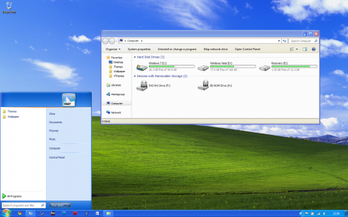 7axp Transformar Windows 7 a Windows XP