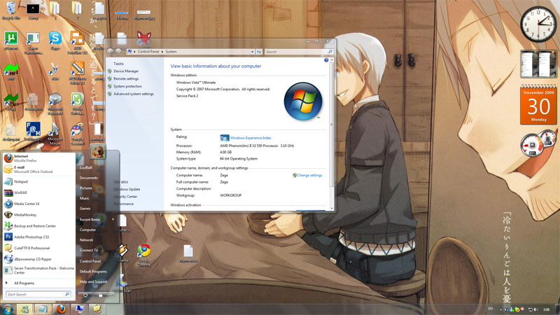 Como transformar windows XP en windows 7