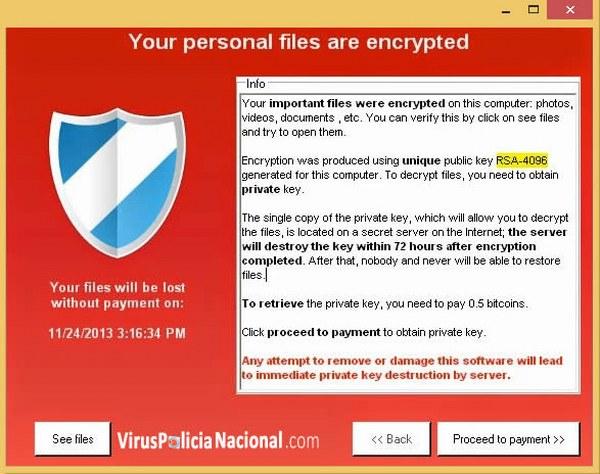 ¿Cómo recuperar archivos encriptados?