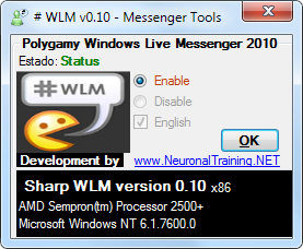 con varias cuentas en Windows Live Messenger 2010 | Informatica XP