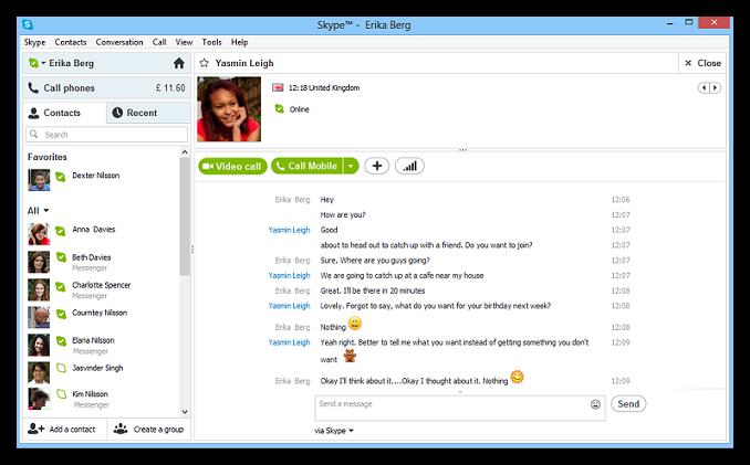 Skype nuevo msn Windows Live Messenger dejara de existir el 15 de Marzo