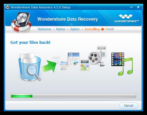 Wondershare Data recovery instalacion Como recuperar archivos eliminados de una USB