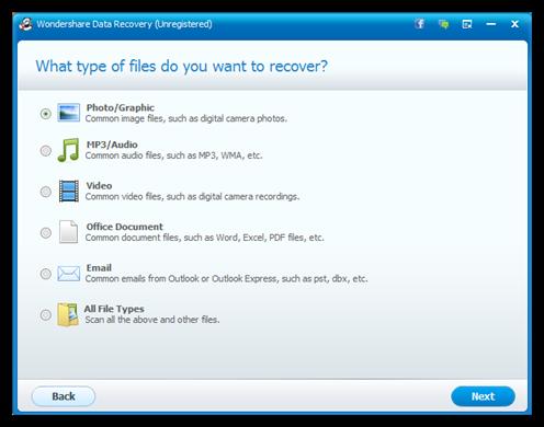 Wondershare Data recovery Como recuperar archivos eliminados de una USB