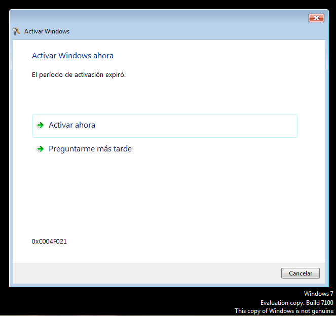 activar windows ahora Como activar Windows 7