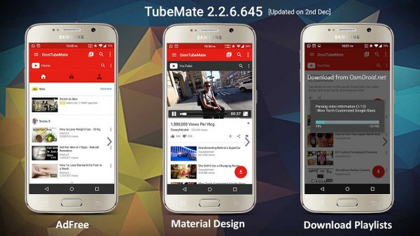 Cómo descargar videos de YouTube para Android con TubeMate