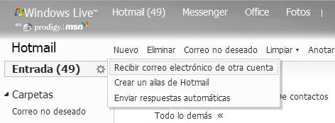 manejar cuentas Como manejar todos tus cuentas de e mail en Hotmail