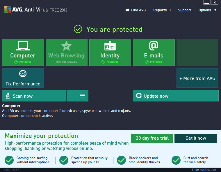 avg anti virus free 2013 Antivirus Gratis
