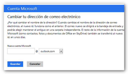 cambiar correo outlook Outlook: Adis a Hotmail