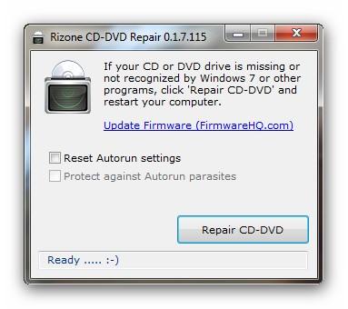 cddvdrepair Como reparar tu unidad logica de CD/DVD