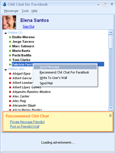 chit chat face 10 trucos para Facebook