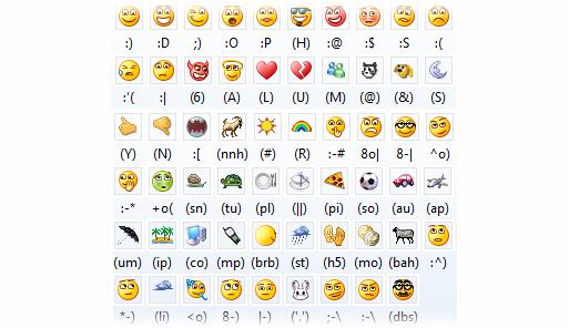emoticonos msn 2010 Windows Live Messenger 2010 Beta