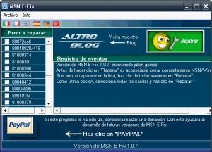 erroresmsn Repara errores de Windows Live Messenger con MSN E  Fix