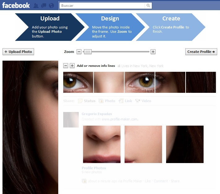 facebook profile maker Como personalizar tu perfil de Facebook