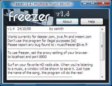 freezer deezer