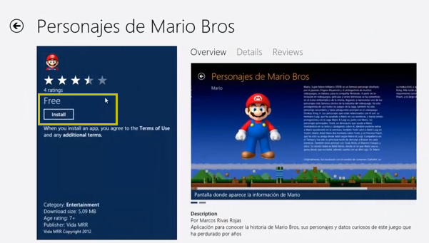 game store Como instalar juegos en Windows 8