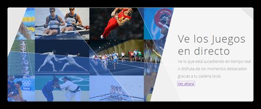 Juegos Olimpicos en Google