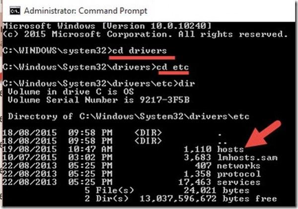 ¿Qué es el archivo HOSTS de Windows?