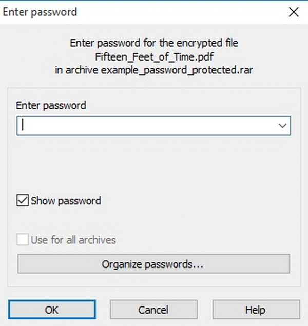 Cómo encontrar la contraseña de un archivo .rar o .zip
