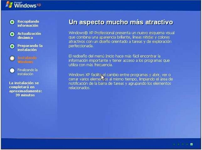 instalacion1 Tutorial: Como formatear e instalar Windows XP