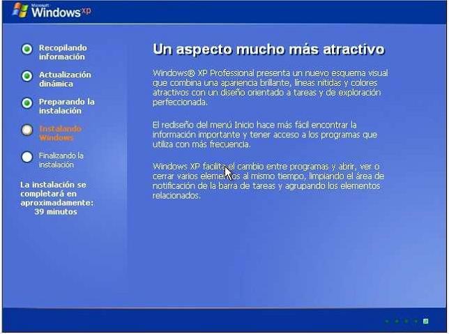 instalacion1 Tutorial: Como formatear e instalar Windows XP