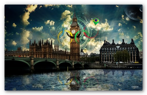 london 2012 7 Espectaculares Wallpapers de los Juegos Olimpicos 2012