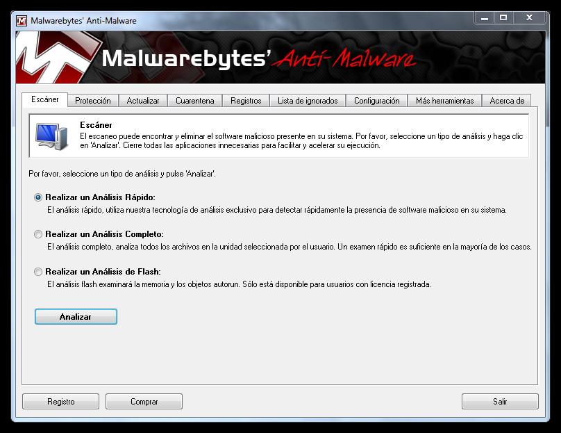 malwarebytes Como eliminar el malware MywebSearch