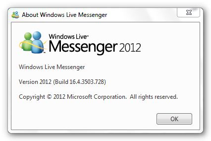messenger 2012 Windows Live Messenger 2012