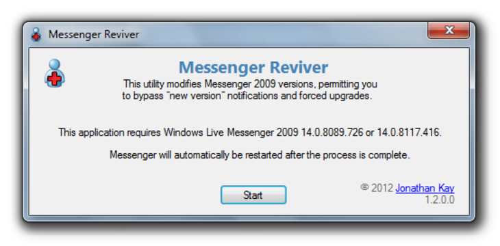 messenger reviver Usar Windows Live Messenger 2009 en Windows 7 y 8