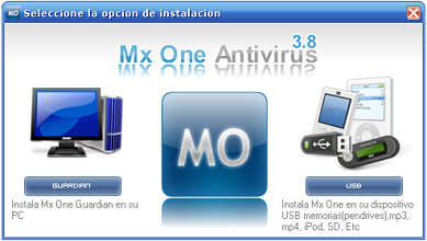 mxone Protege tu memoria usb con Mx One Antivirus
