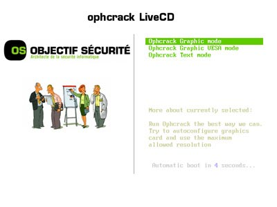 ophcrack15 Como recuperar la contraseña de windows xp o vista con Ophcrack USB