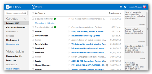outlook correo Outlook: Adis a Hotmail