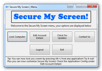 secure my screen