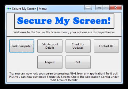 secure my screen
