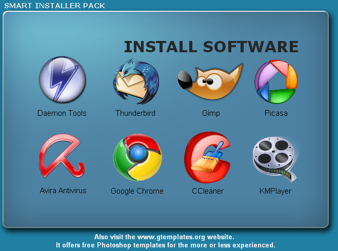 smart installer Smart Installer Pack: Paquete de aplicaciones esenciales para Windows