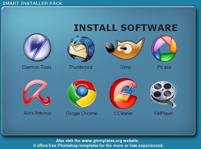 smart installer Smart Installer Pack: Paquete de aplicaciones esenciales para Windows