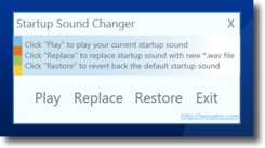 startup sound changer 7 Aplicaciones para personalizar Windows 7