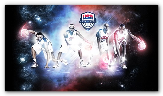 team usa 2012 basketball 7 Espectaculares Wallpapers de los Juegos Olimpicos 2012