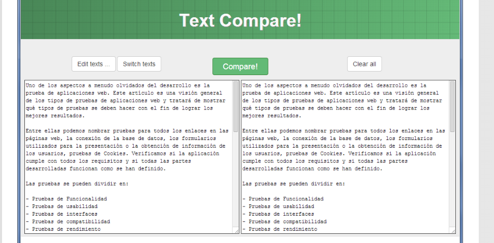 textcompare