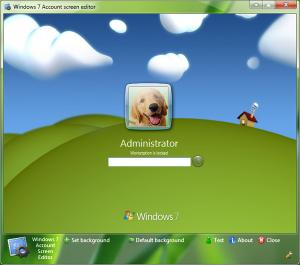 windows 7 account screen edition 7 Aplicaciones para personalizar Windows 7