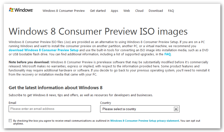 windows 8 customer preview Disponible Windows 8 Customer Preview