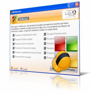 winrecover Elimina restricciones de Windows con WinRecover